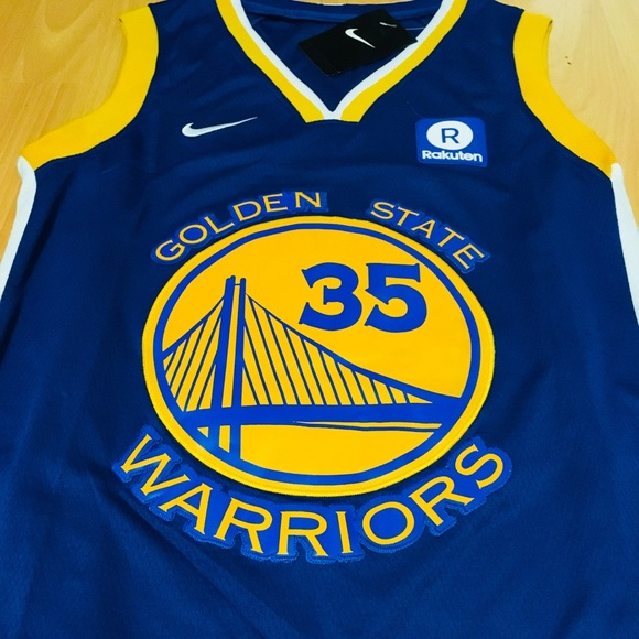 buy popular 822a4 60a28 Kevin Durant Golden State Warriors Jersey new NWT